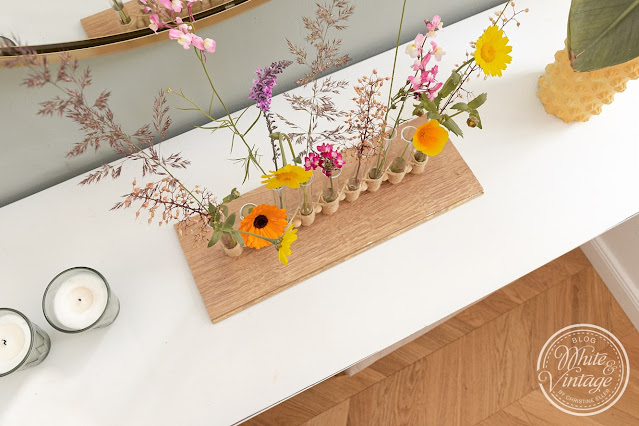 Wunderschöne Ikebana-Vase selbermachen