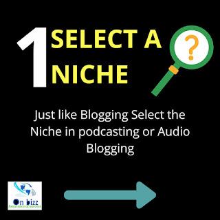 memulai membangun podcast dengan memilih tema atau niche
