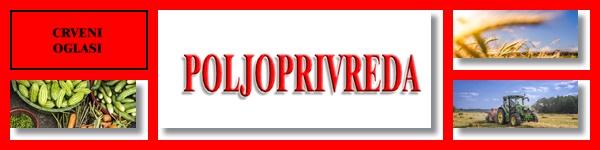 - POLJOPRIVREDA - CRVENI OGLASI