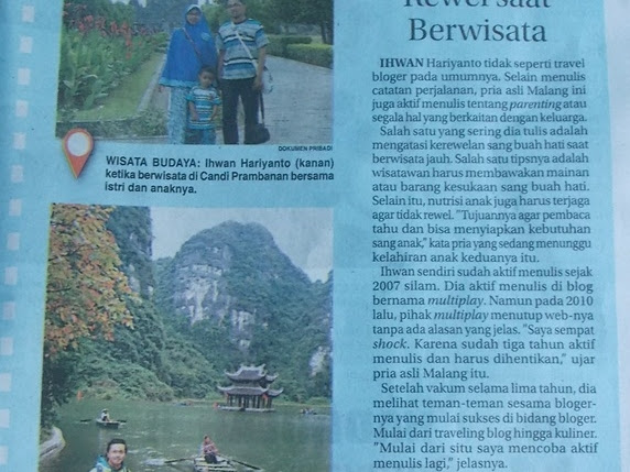 Keluarga Biru di Harian Jawa Pos