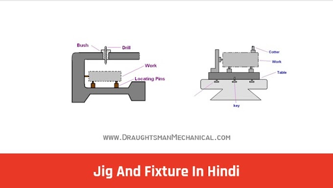 30. What Is Jig And Fixture, Definition, Types, Jig And Fixture Differences In Hindi