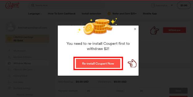 موقع حصري إربح 2 دولار خلال 5 دقائق فقط