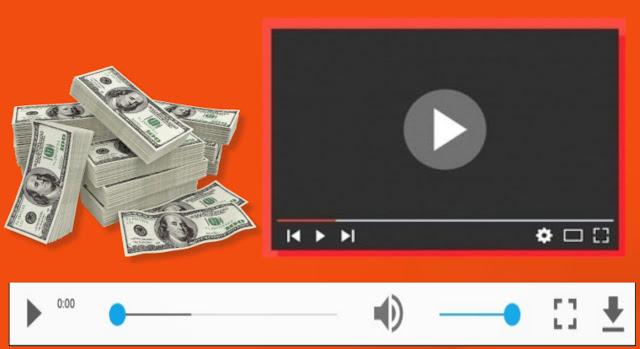 تطبيق لربح المال من مشاهدة الفيديوهات القصيرة
