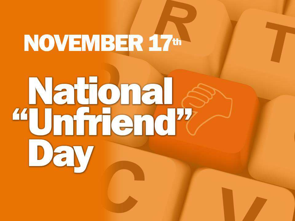 National Unfriend Day Wishes pics free download
