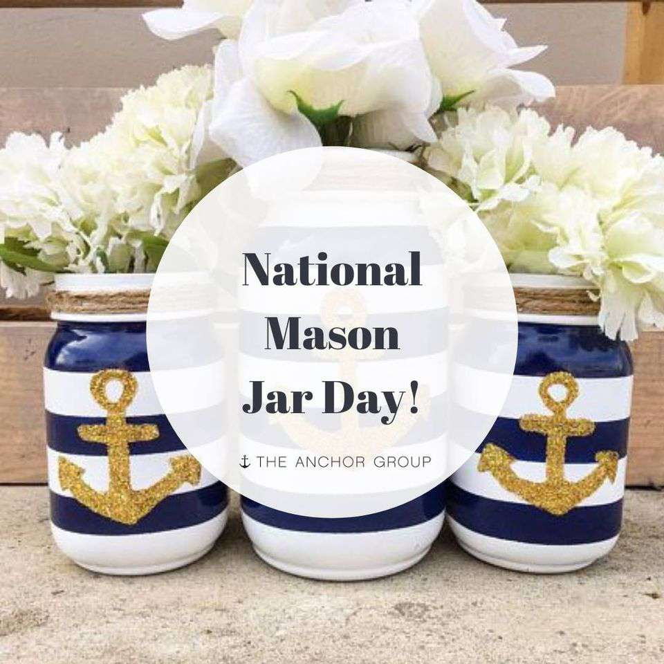 National Mason Jar Day Wishes Images download
