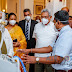 """Air Force produced """"Heated Humidified Oxygen Therapy Unit"""" officially handed over to President"""