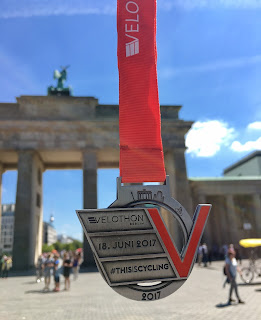 Medal Velothon Berlin
