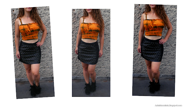 diy how to make milkmaid top | t shirt refashion | Jak przerobić t-shirt na top