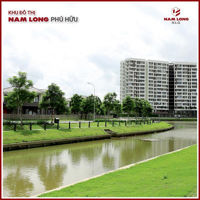 Biệt thự ven sông khu đô thị Nam Long Phú Hữu