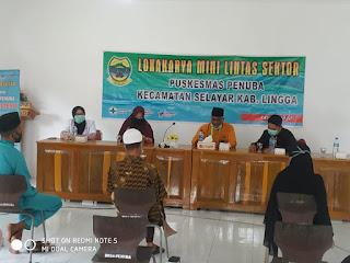 Lokakarya Mini Lintas Sektor ke III Puskesmas Penuba Kecamatan Selayar Kabupaten Lingga Tahun 2020