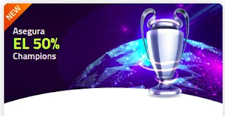 Luckia promo Champions 8-10 marzo 2021