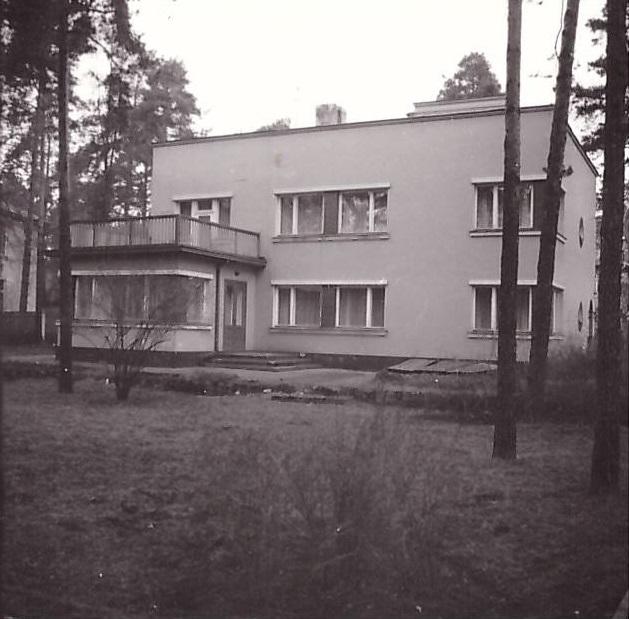 1970-е годы. Mežaparks. Poruka iela, 10 (Kirhenšteina rezidence)