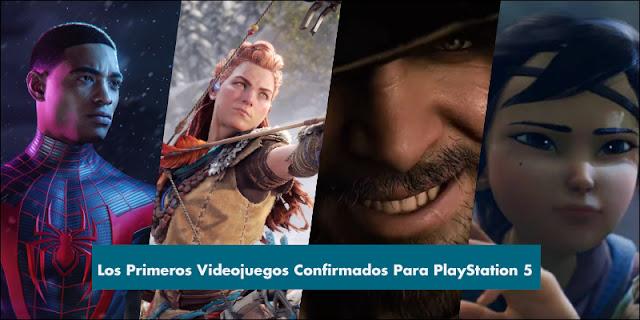 Los primeros juegos confirmados para PlayStation 5