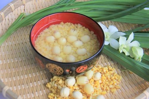 Chè hạt sen đậu xanh thanh mát, bổ dưỡng
