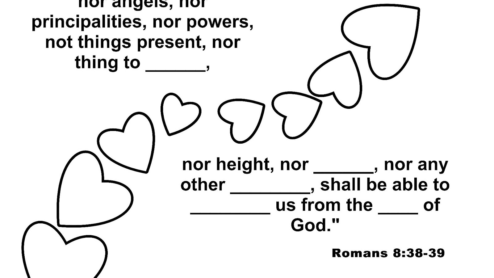 God Is Love Sunday School Lesson