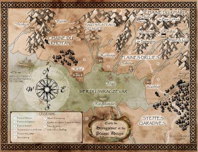 La carte du Svragzevar