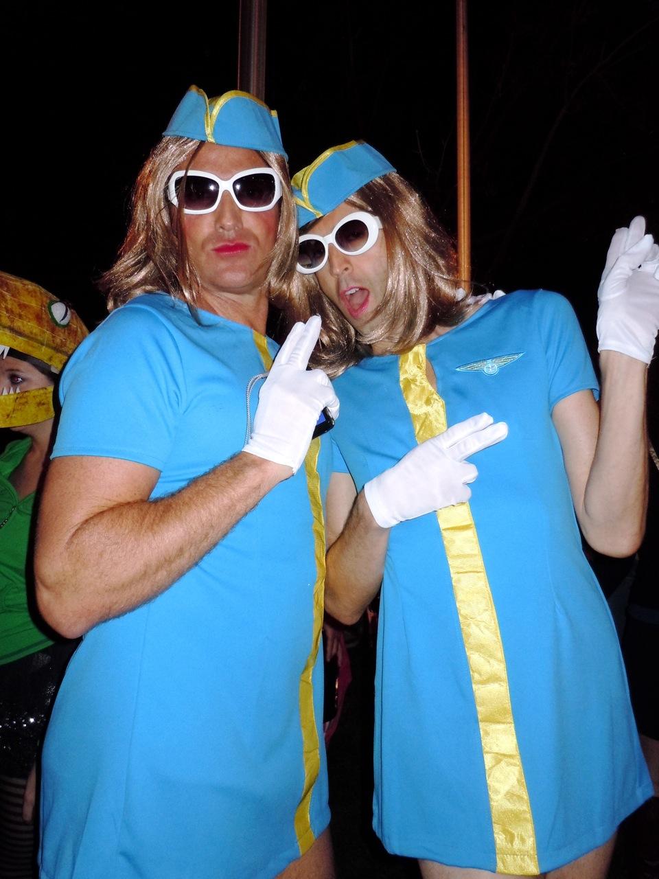 WEHO Halloween Carnaval 2010 flight attendants  sc 1 st  Jason in Hollywood & Costume inspiration from West Hollywood Halloween Carnavals past ...