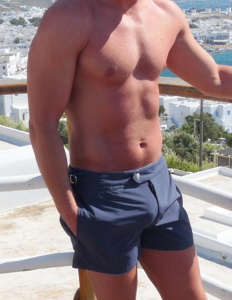 Naked Gay In Thong 53