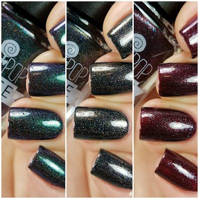Lollipop Posse Lacquer The Really Effing Brutal Trio Swatches and Review