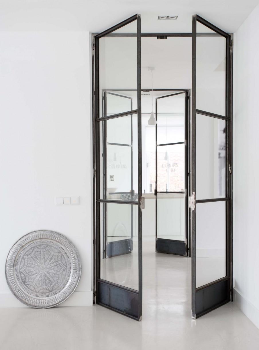 ventanas industriales, puertas acristaladas, puertas cristal, estilo nordico, decoracion nordica, blanco, white, interiorismo, barcelona, alquimia deco