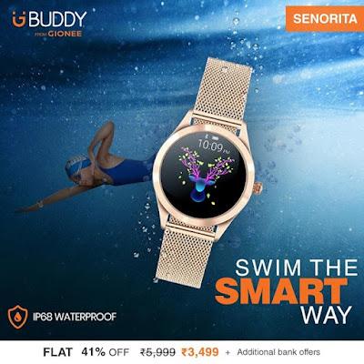 Gionee India popular smart watch brand