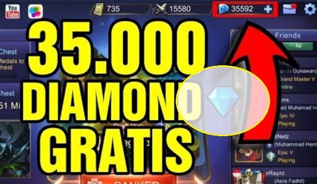 Trik Mendapatkan Diamond Mobile Legends Gratis