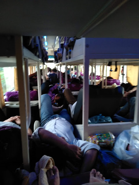 autobus sypialny, Wietnam
