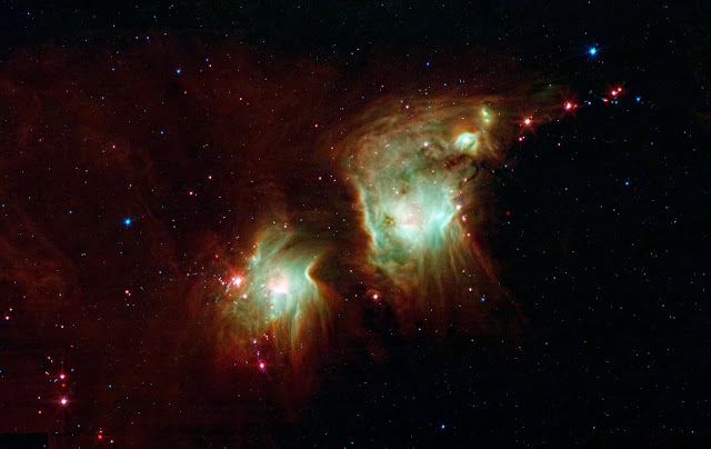 Star Formation in Orion (Messier 78)
