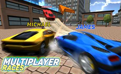 Game Simulasi Mengemudi Android Multiplayer Driving Simulator MOD APK