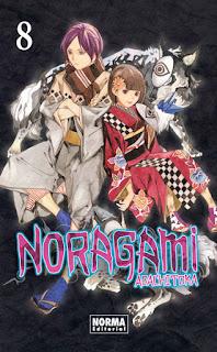 "Reseña de ""Noragami #8"" de Adachitoka"