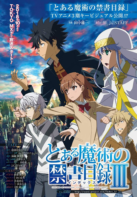 tercera temporada de Toaru Majutsu no Index.