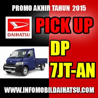 Promo Daihatsu Pick Up 2015, Daihatsu Pick UP Bandung, Promo Daihatsu Bandung