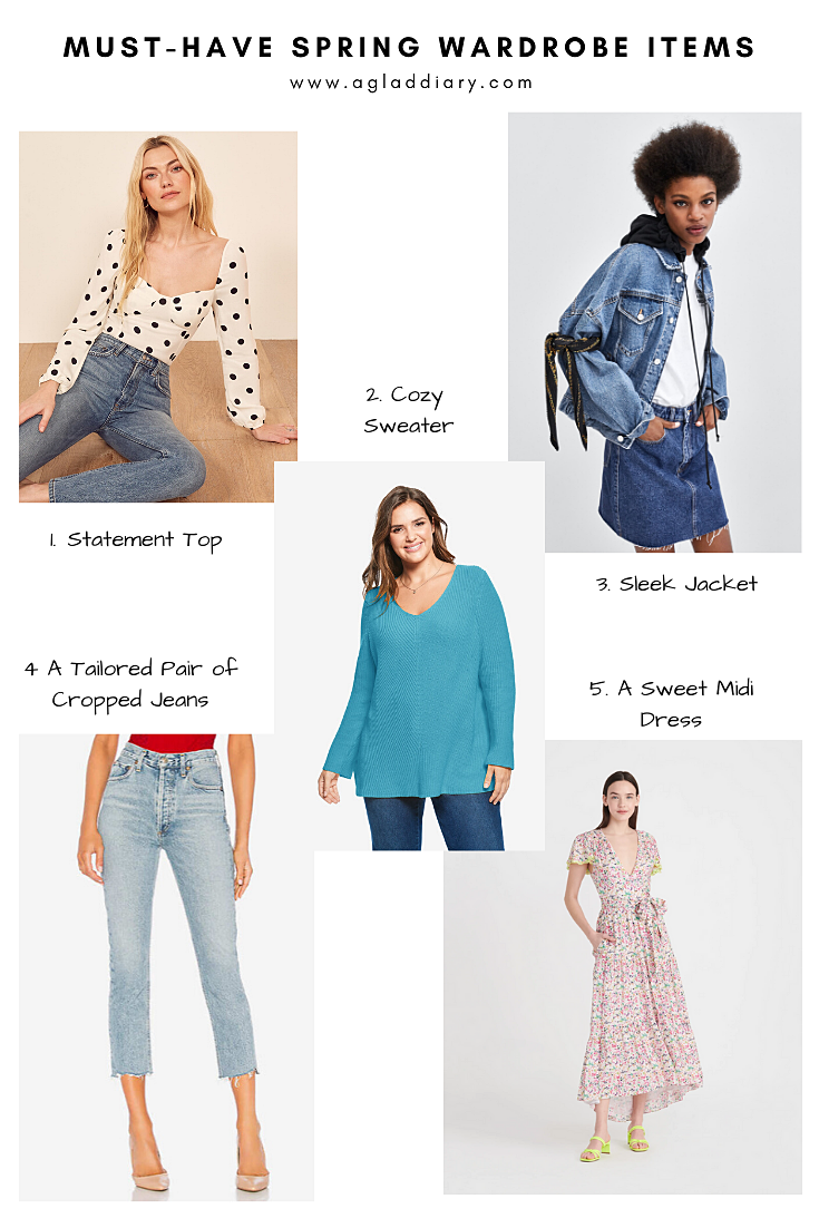 Must-Have Spring Wardrobe Items