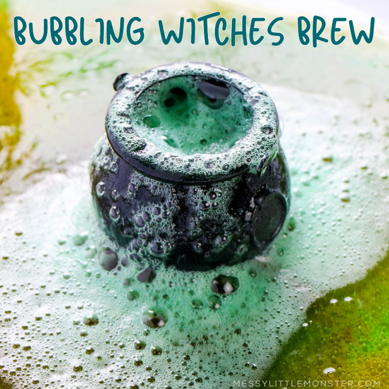 bubbling witches brew science experiment
