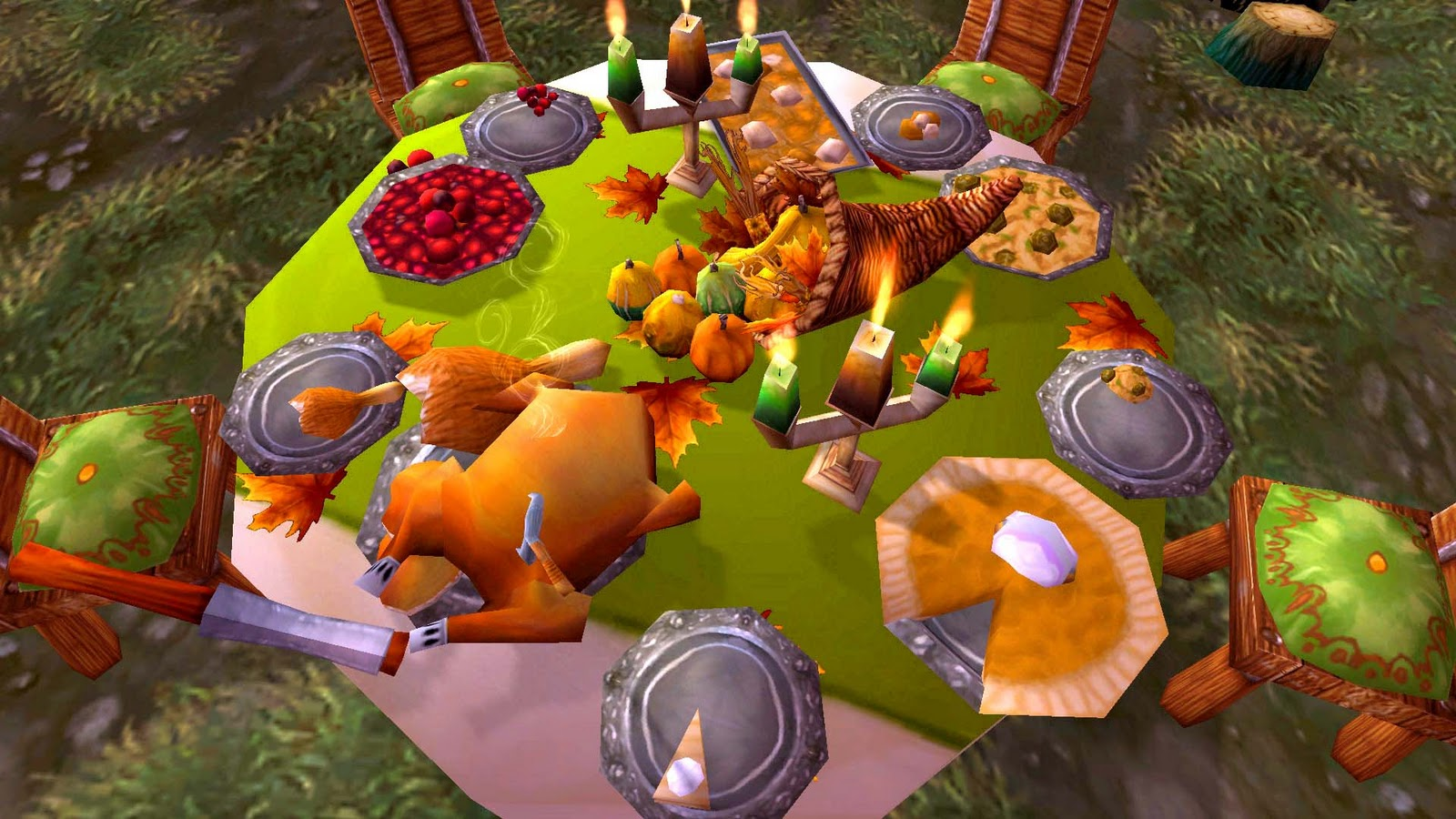 3d Game Wallpaper Red Cow Rise Pilgrim S Bounty Share Plentiful Food