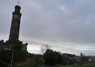 Vistas de Edimburgo desde Canton Hill.