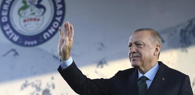 Ερντογάν: Η Λωζάνη είναι το λιγότερο που μπορούμε να αποδεχτούμε