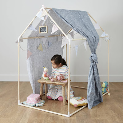 Emma in Bromley Easter 21 Wooden Den Kit Hobby Craft