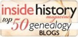 50 Top genealogy Blogs Award 2012