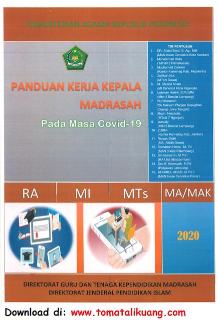 panduan kerja kepala madrasah ra mi mts ma pada masa pandemi covid-19 pdf kemenag tomatalikuang.com