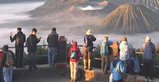 Mount Bromo nature tourism, Indonesia