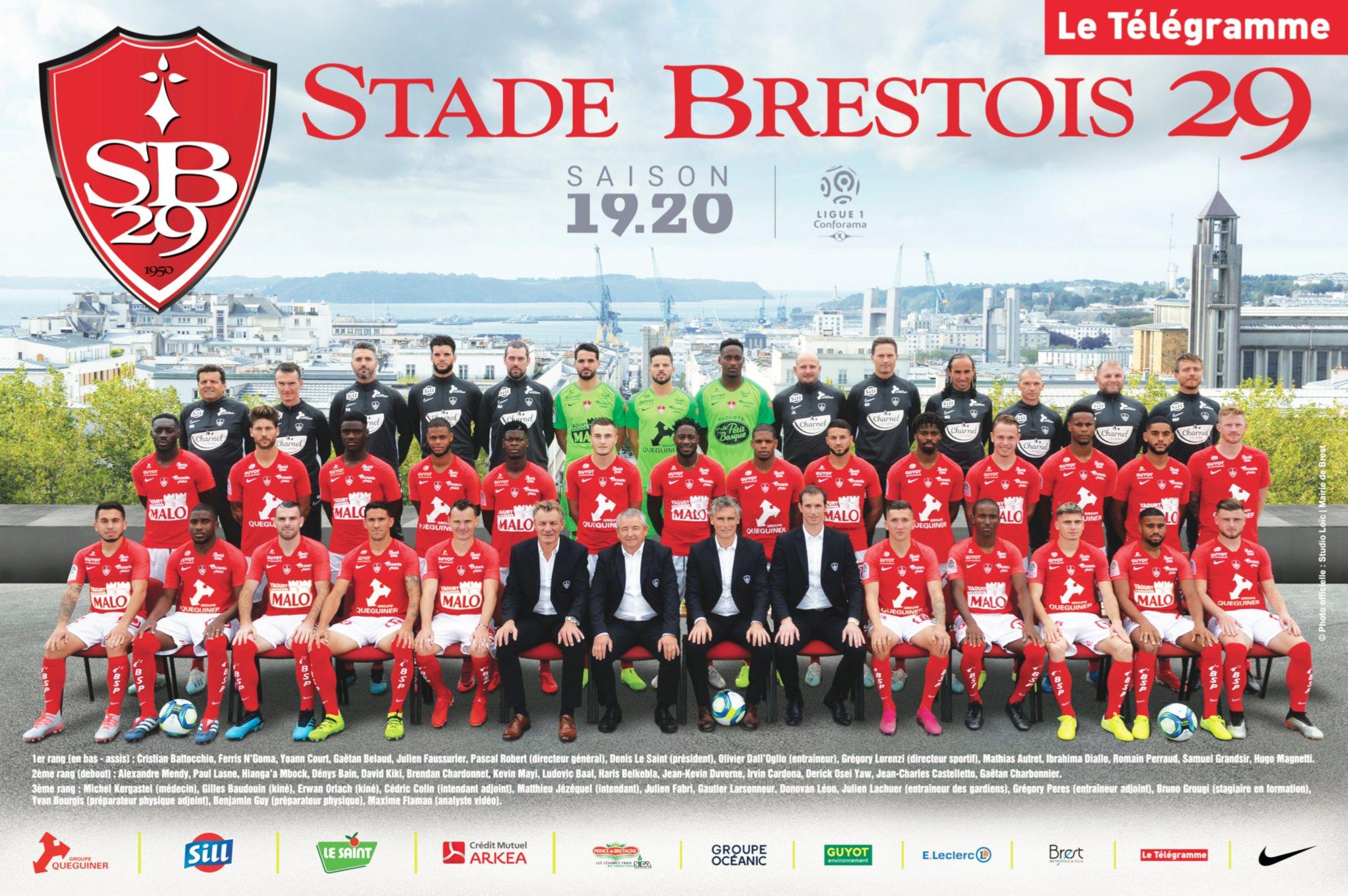 Jadwal Skuad Brest 2020