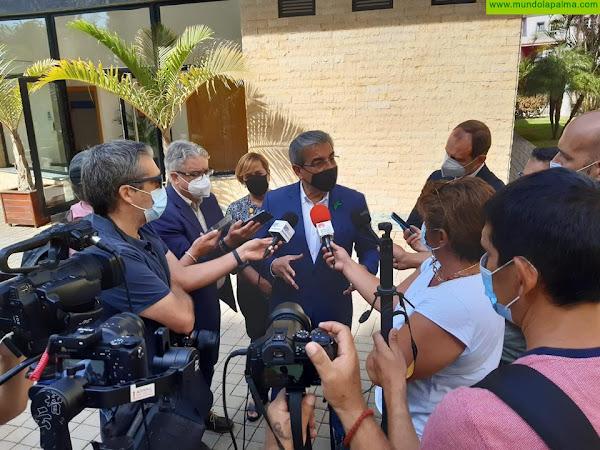 El Gobierno acelera la compra de las primeras 73 viviendas para los afectados por la erupción del volcán en La Palma