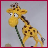 Perfecta jirafa amigurumi