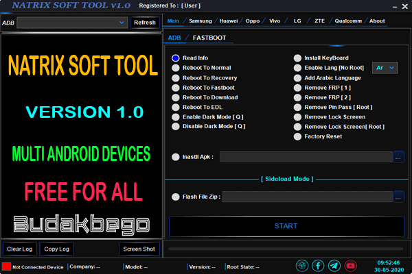 Natrix Soft Tool V1.0 Multi Android Devices Free
