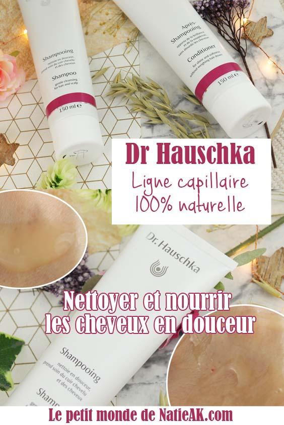 Dr Hauschka shampoing et après shampoing avis