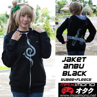 Jaket Anime Anbu Black – Naruto Shippuden