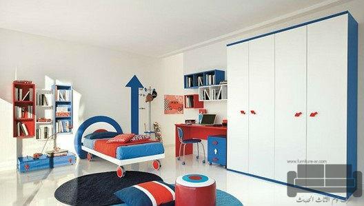 الوان غرف نوم كاملة، صور احدث غرف نوم، غرفة نوم ابيض في ازرق, اجمل الوان اوض النوم, الوان غرف نوم, ديكورات غرف نوم