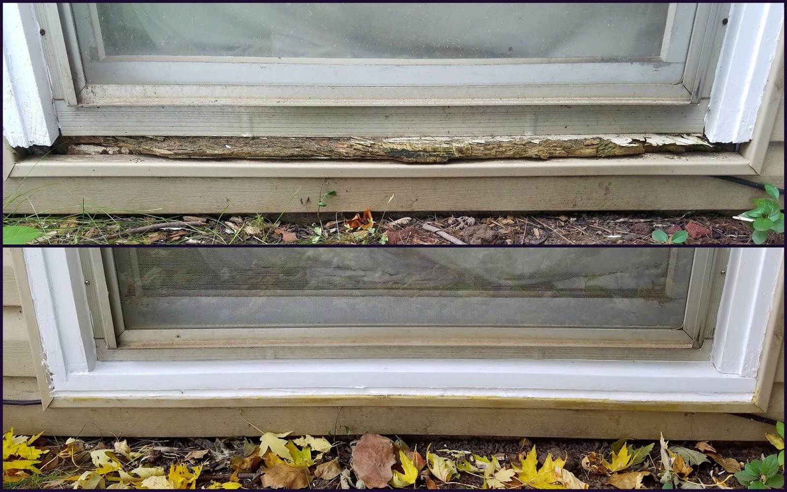 Basement Window Sill Replacement Steve S Diy Shack