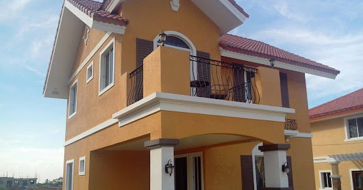 Gisella Model House and Lot package for sale in Golf community Subdivision rush rush for sale